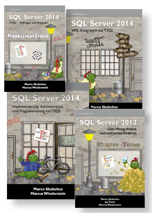 Microsoft SQL Server Bücher